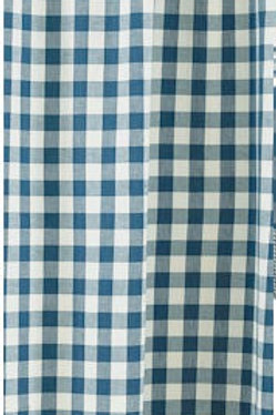 "York Blue Shower Curtain 72""x72"" #405-45"