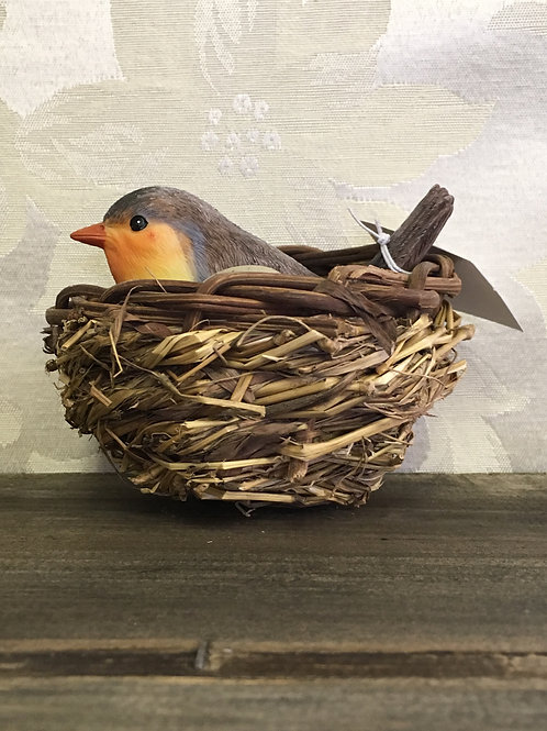 "Nesting Birds Orange 4""overall #2124170"