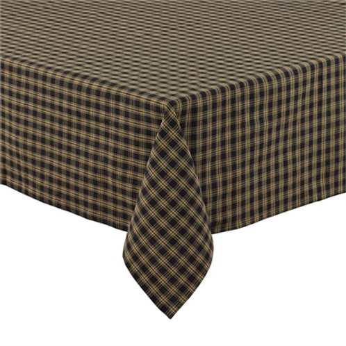 "Sturbridge Black Tablecloth 54"" x 54"" #315-05R"