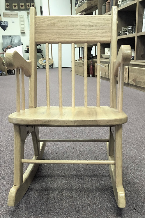 Hand Crafted Child's Rocking Chair #PS3