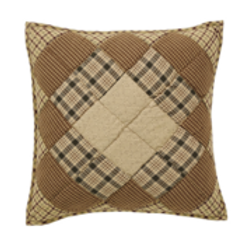 "Barrington Quilted Filled Pillow 16""x16"" #32895"