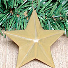 "2-1/4"" Mini Barn Star - Old Gold #GISW738G"