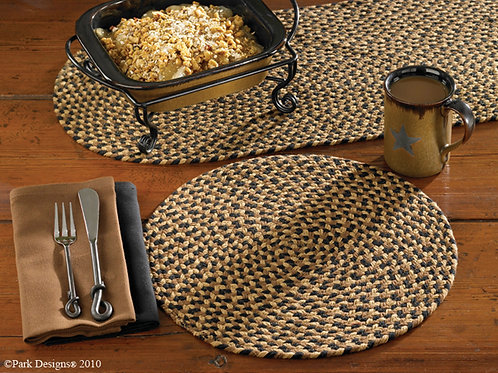 "Braided Placemat 15""x15""  #107-01CB"