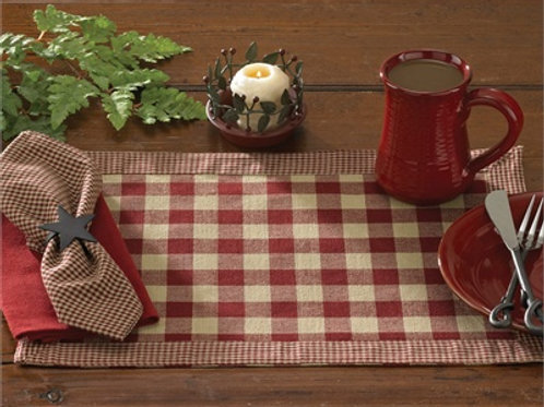 York Placemat - Wine #405-01K