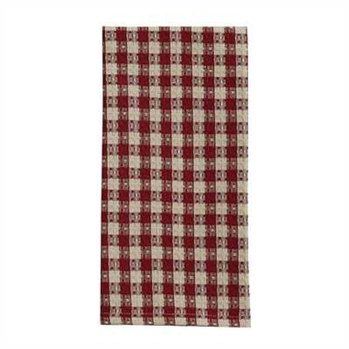 Crochet Gingham Dishtowel Waffle 455-11