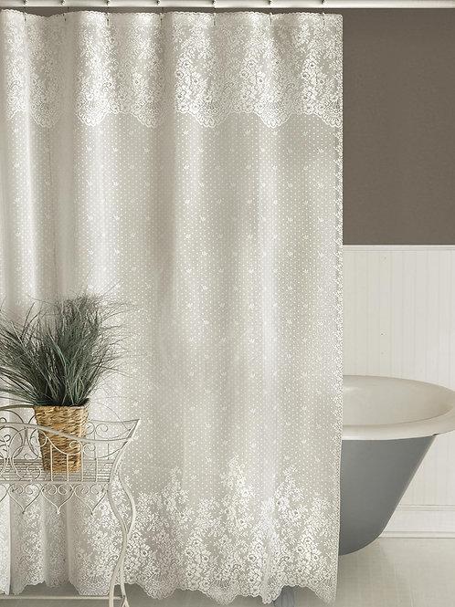 """Floret Shower Curtain 72""""x72"""" #6290W-0C"""