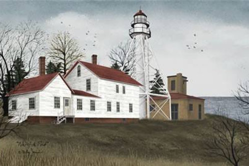 "Whitefish Point  Picture by Billy Jacobs  12""x 18"" #BJ163"