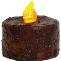 """Cinnamon LED Tealight 1-1/4"""" T #G84013"""