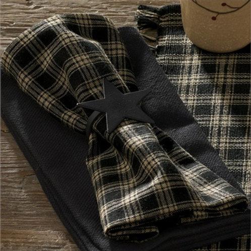 Sturbridge Napkin - Black #315-02R