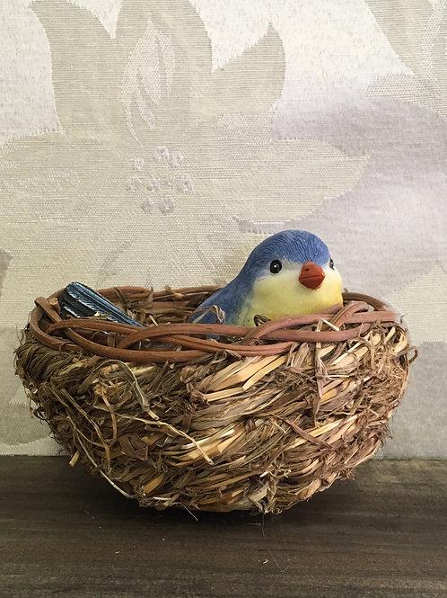 "Nesting Birds Blue 4"" overall #2124170"