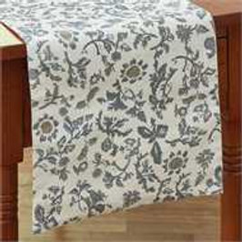 "Floral Plantation Table Runner - 36""L #163-12"