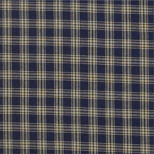 Sturbridge Navy Curtain Panels #315-43H