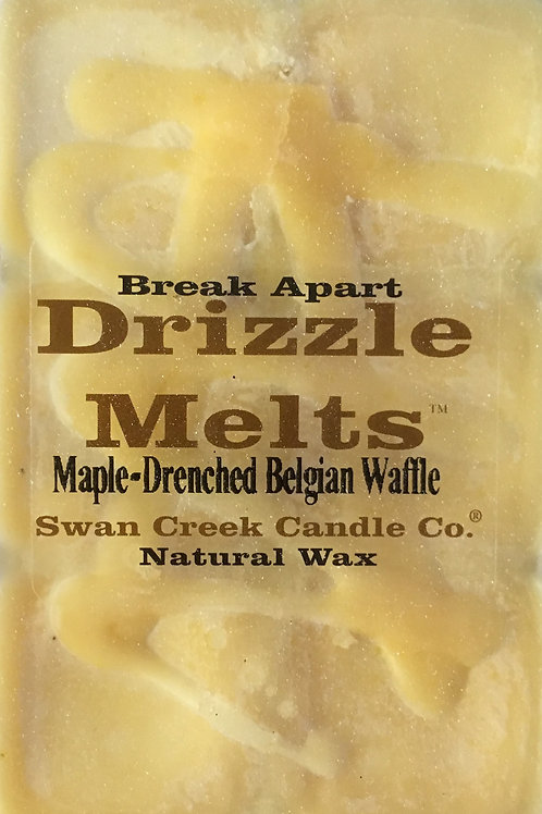 Maple-Drenched Belgian Waffle #02258