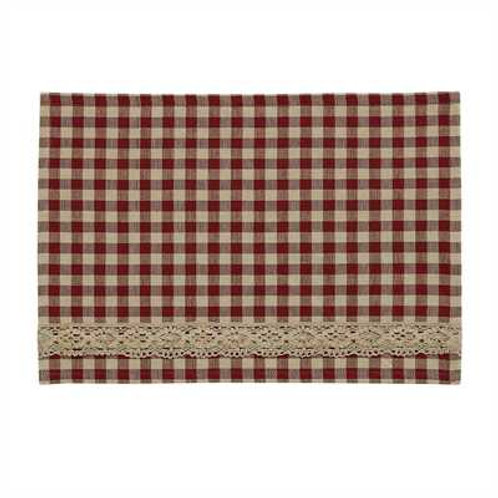 Crochet Gingham Placemat 455-01