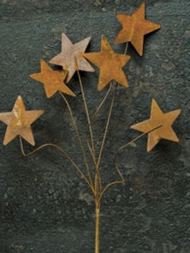 "Rusty Star Pick - 12"" #GISB12312"