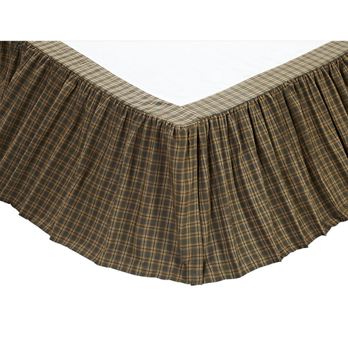 "Barrington Queen Bed Skirt 60""x80""x15"" #12330"