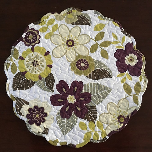 "Isabella Placemat 17""x 17""  #161-01"