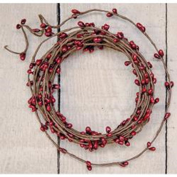 Red Pip String Garland, 18 ft.  #FT590R
