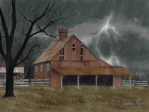 """Dark & Stormy Night by Billy Jacobs 12""""x 16"""" #BJ1113"""