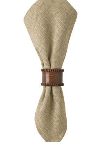 Botanical Wood Napkin Ring #24-281