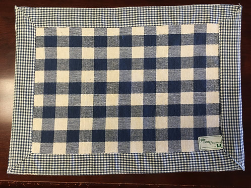 York Blue Placemat 405-01G