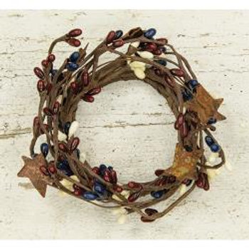 """2"""" Country Mix Ring w/Stars  #FT1039CM"""