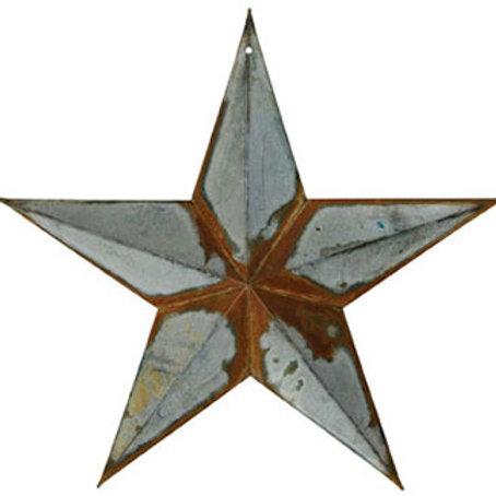 "Rusty Galvanized Star, 12""  #G570712AGR1"