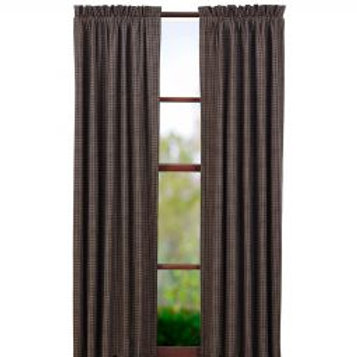 Kettle Grove Lined  Plaid Panel Set