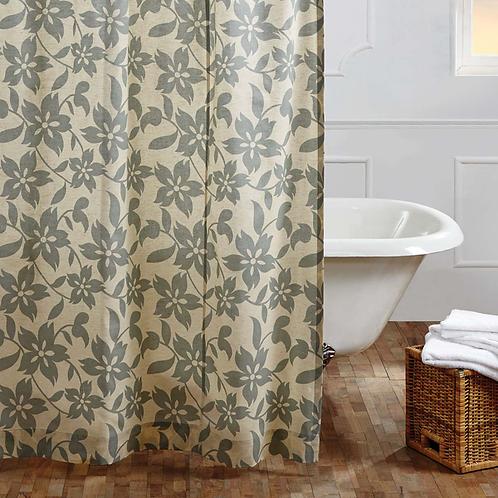 "Briar Sage Shower Curtain 72""x72"" #29383"