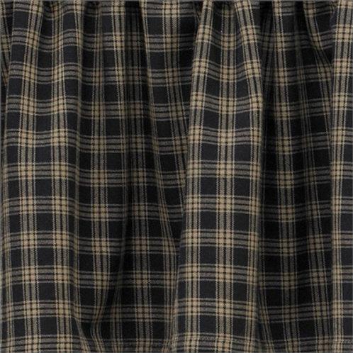 "Sturbridge Swag - Black 72"" x 36"" #315-46R"