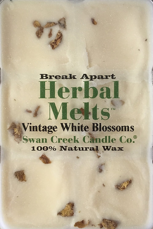 Vintage White Blossoms #02286