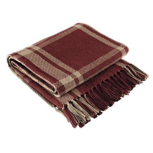 "Sturbridge Plaid Throw 50""x60""  #315-22k"
