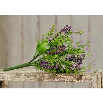 """Eucalyptus Lavender Berry Pick, 11-1/2"""" #FFG9081LV"""
