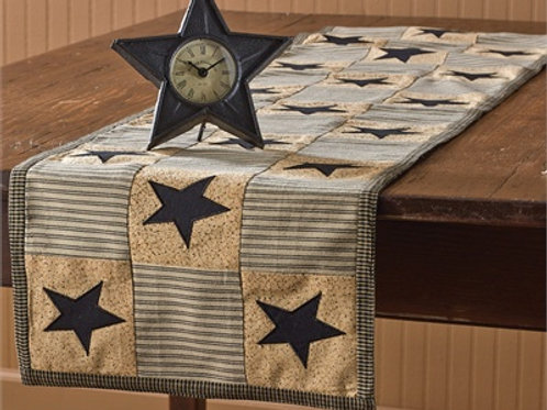 "Primitive Star Table Runner - 13"" x 36"" #371-12"