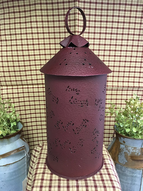 Live Love Laugh tart/wax warmer-Burgundy #91542