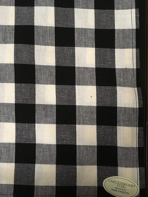 Checkerboard Star Dish Towel #300-10