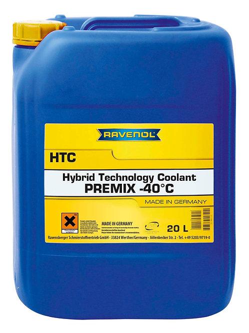 RAVENOL HTC Hybrid Technology Coolant Premix -40°C