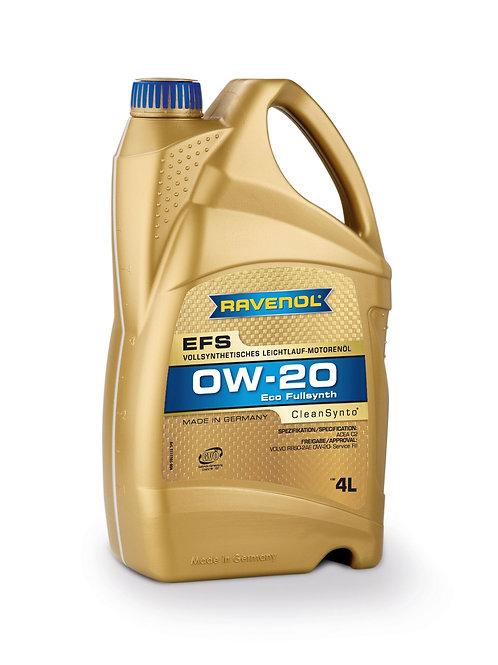 RAVENOL Eco Synth EFS SAE 0W-20