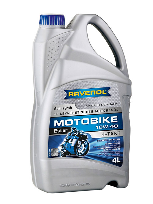 RAVENOL Motobike 4-T Ester SAE 10W-40