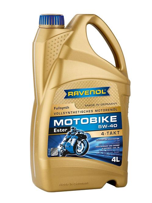 RAVENOL Motobike 4-T Ester SAE 5W-40