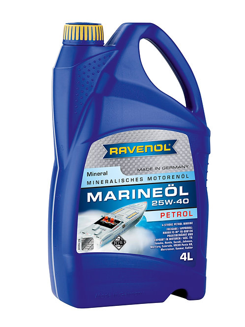 RAVENOL MARINEOIL PETROL SAE 25W-40