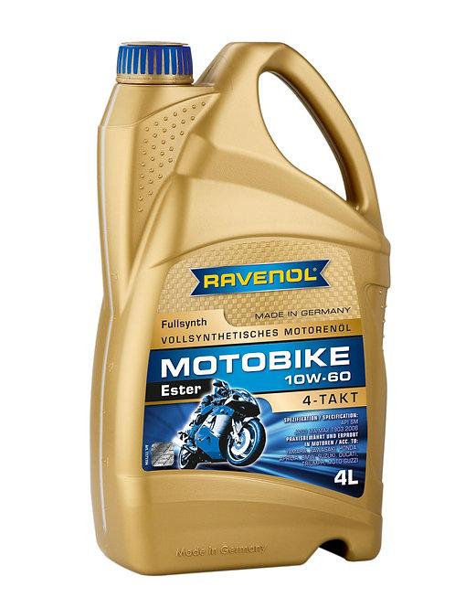 RAVENOL Motobike 4-T Ester SAE 10W-60