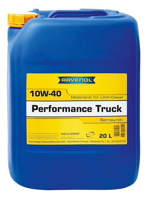 RAVENOL Performance Truck SAE 10W-40