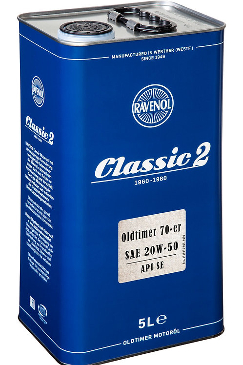 RAVENOL Oldtimer 70-er SAE 20W-50 API SE