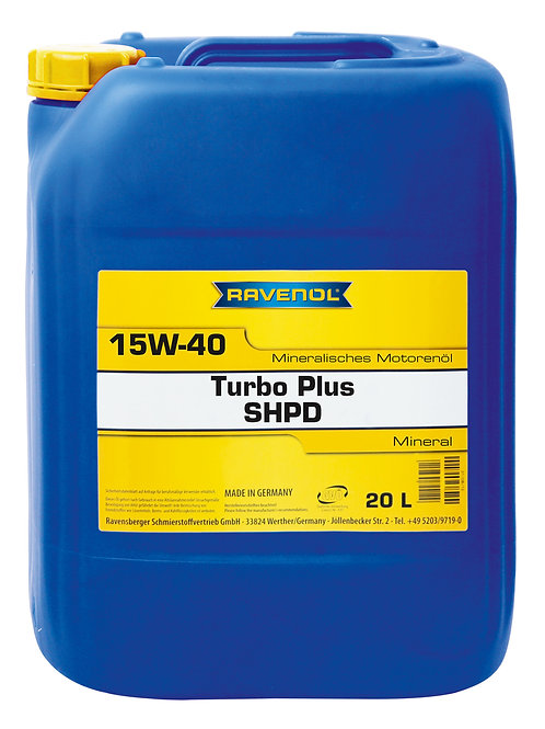 RAVENOL Turbo-Plus SHPD SAE 15W-40