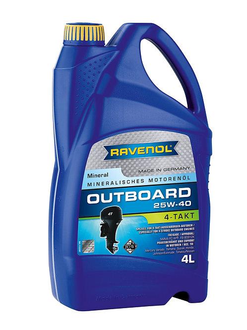 RAVENOL Outboardoel 4T SAE 25W-40