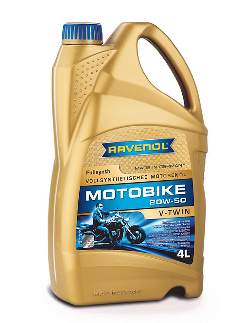 RAVENOL Motobike V-Twin SAE 20W-50 Fullsynth.