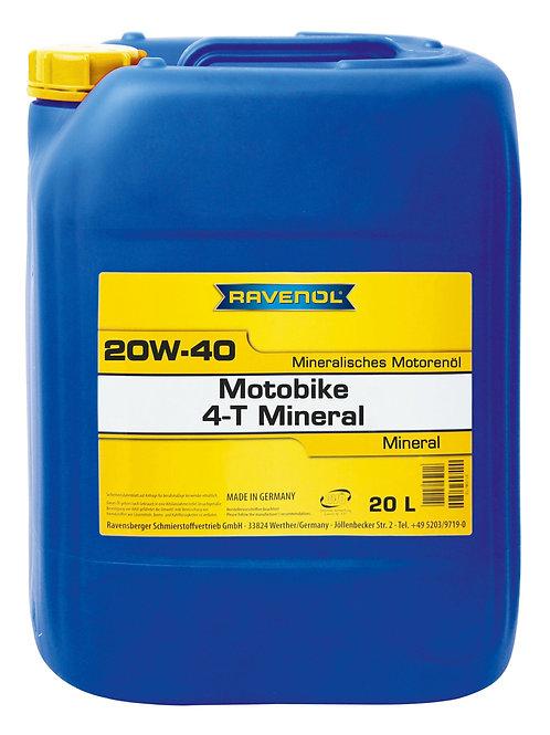 RAVENOL Motobike 4-T 20W-40 Mineral