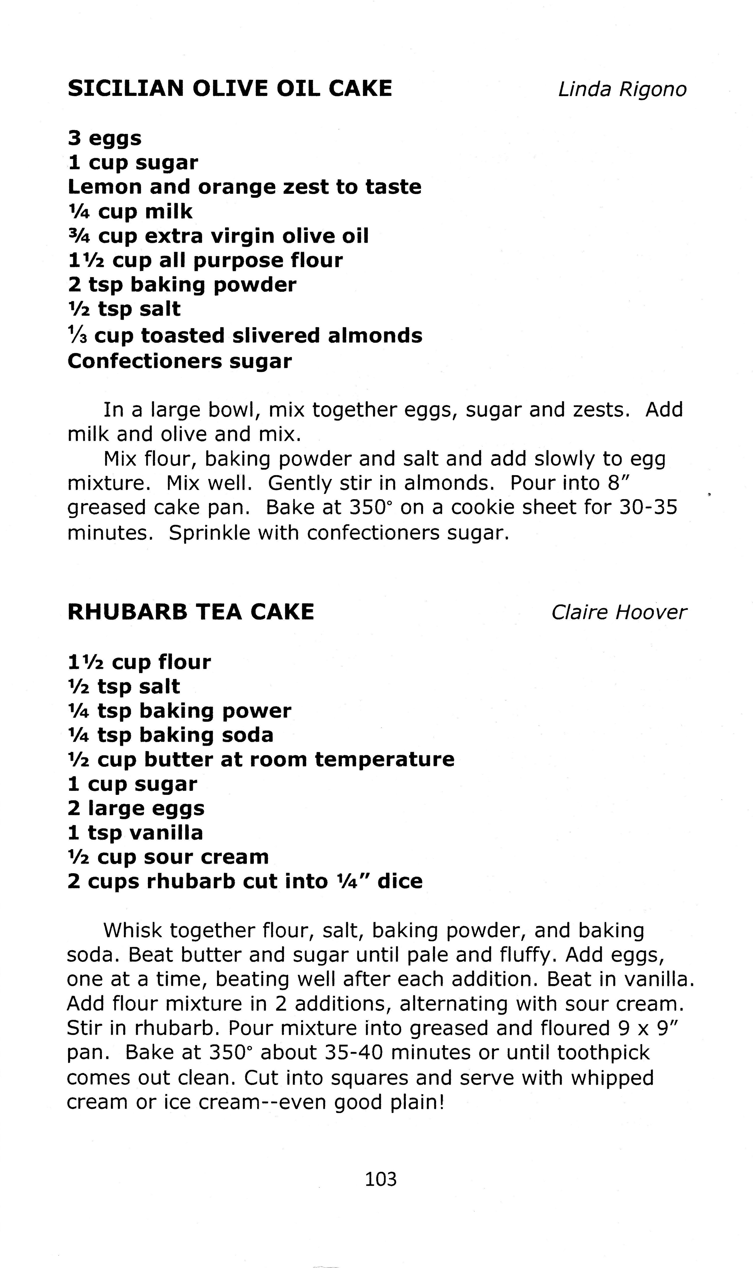 HGC Cookbook pg 103 Scanned