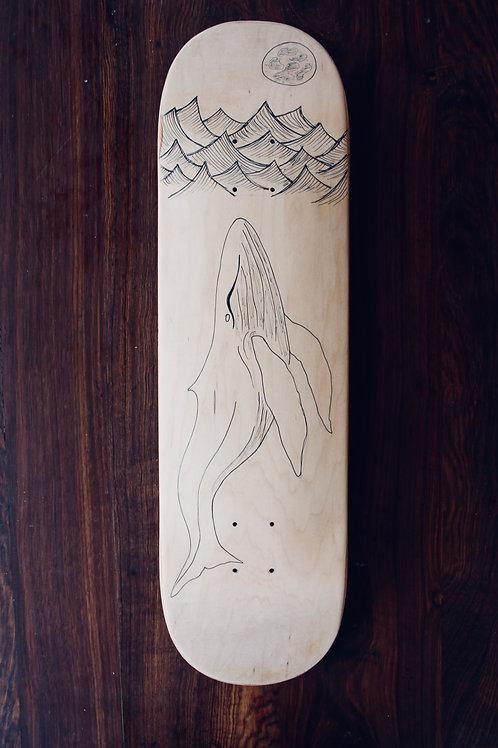 human:twelve:desire (skateboard deck)